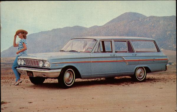 1964 Ford Fairlane Custom Ranch Wagon Cars