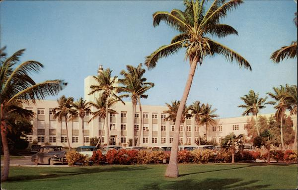 The United States Naval Hospital Key West Florida