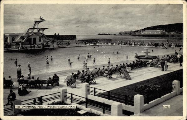 The Swimming Pool Weston Super Mare Somerset England