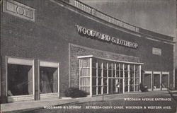 Woodward & Lothrop, Wisconsin Avenue Entrance