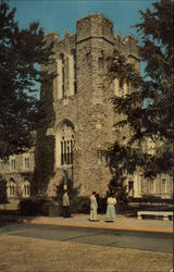 The General Library of Duke University Postcard