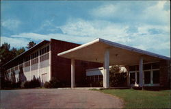 Community Center Postcard