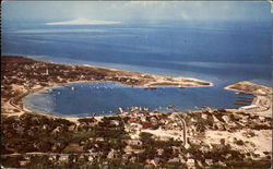 Ocracoke Village and Harbor, Ocracoke Island