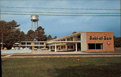 Duke of Dare Motor Lodge Postcard