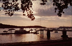 Sunset on Northport Harbor