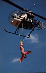 Dave Merrifield and His Helicopter Trapeze Act