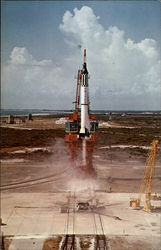 Launch of the Mercury Restone Vehicle, JFK Space Center