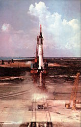 Launch of the Mercury Redstone