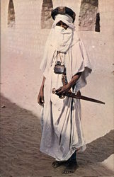 Tuareg Tribesman from the area of the Mysterious City.
