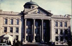 Clay County Court house Postcard