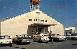 Main Exchange, Sheppard Air Force Base Postcard