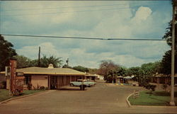 Flamingo Motel Postcard