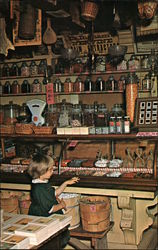 The Candy Counter of the Original Vermont Country Store
