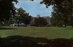 The Columns Building, Chowan College Postcard