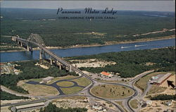 Panorama Motor Lodge, Overlooking Cape Cod Canal