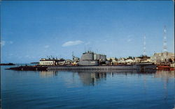 The U.S. Navy Submarine Base
