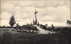 Crucifixion Group, National Shrine of the North American Martyrs Postcard