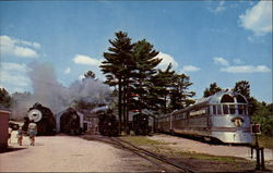 The Edaville Railroad Postcard