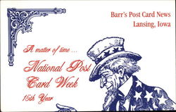 A Matter of Time... National Post Card Week 15th Year
