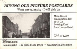 Buying Old Picture Postcards Postcard