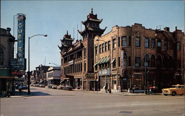 Chinese Temple, On Leong Merchants Association Building Chicago Illinois