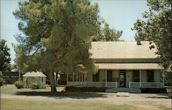 Kern County Museum's Pioneer Village, Weill House Bakersfield California