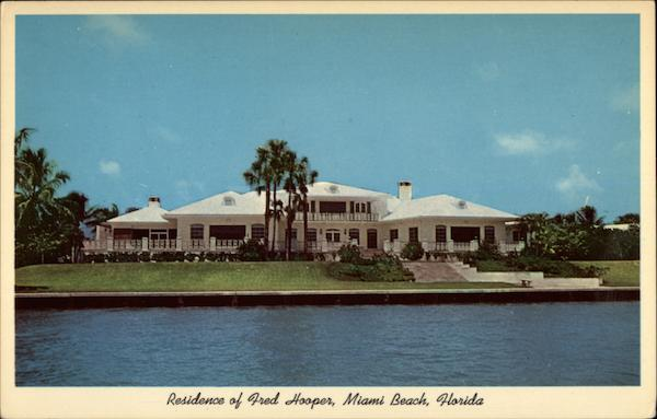 Residence of Fred Hooper, Miami Beach, Florida
