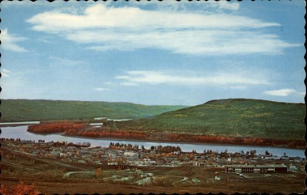 Peace River Valley Canada J.H. Bell Alberta