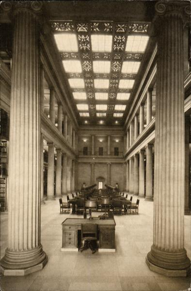 James Jerome Hill Reference Library - Reading Room St. Paul Minnesota