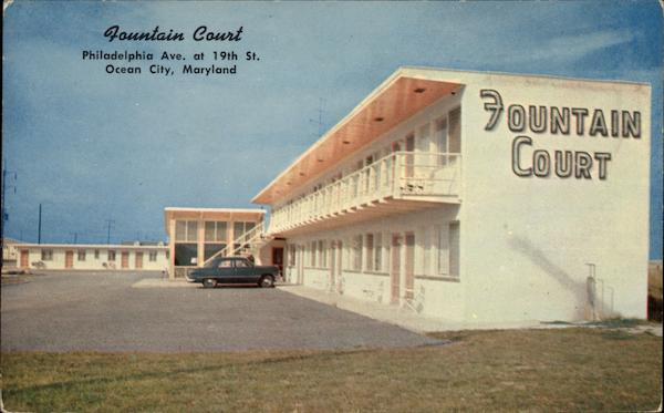 Fountain Court Ocean City Maryland