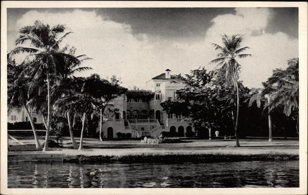 Residence of Jacob I. Cabassa Miami Florida