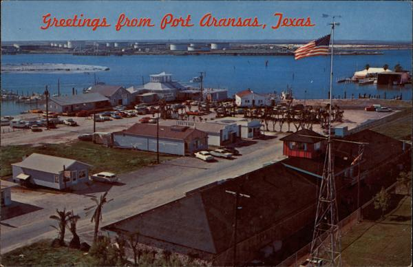 Greetings from Port Aransas Texas Frank B. Whaley