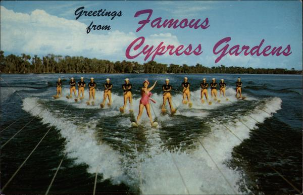 Greetings from Famous Cypress Gardens Florida