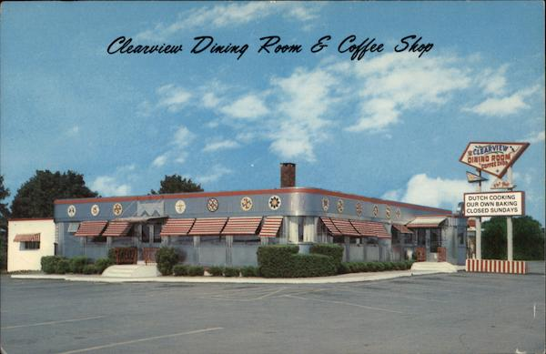 Clearview Dining Room & Coffee Shop Elizabethtown Pennsylvania