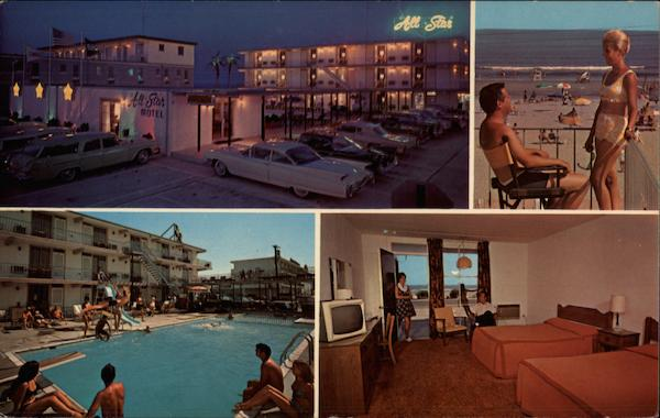 All Star Motel Wildwood Crest New Jersey