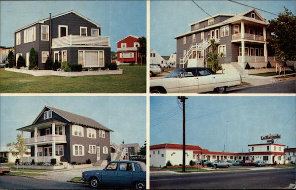 La Hacienda Motel and Whitestone Apartments Stone Harbor New Jersey