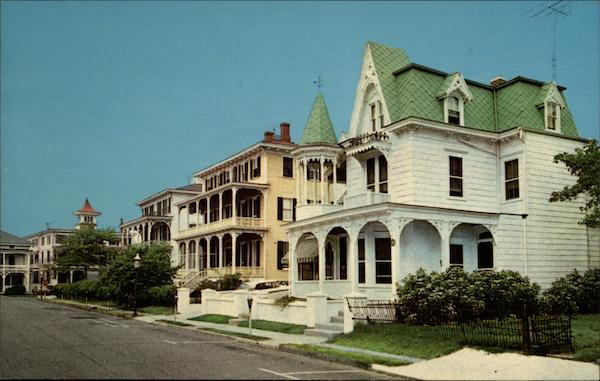 A Victorian Setting - Congress Place Cape May New Jersey