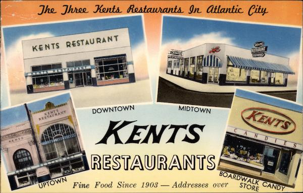 Kents Restaurants Atlantic City New Jersey