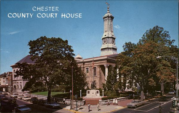 Chester County Courthouse West Chester Pennsylvania