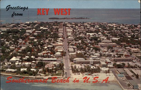Aerial View Key West Florida