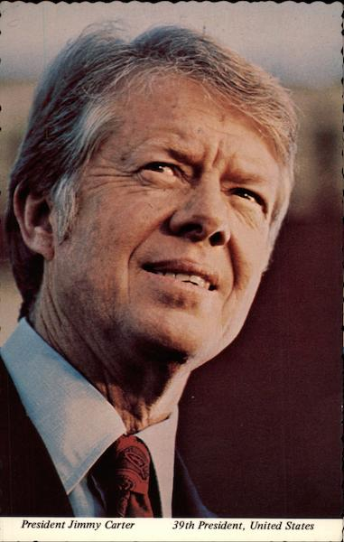 President Jimmy Carter, 39th President, United States