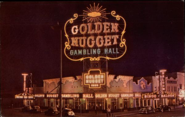 Golden Nugget Gambling Hall, Saloon and Restaurant Las Vegas Nevada