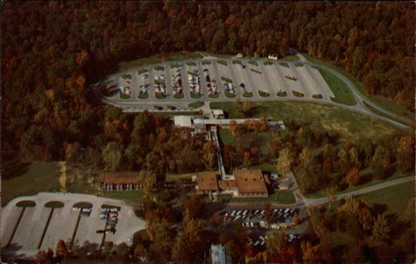 Aerial View of Accommodations in Mammoth Cave National Park Kentucky