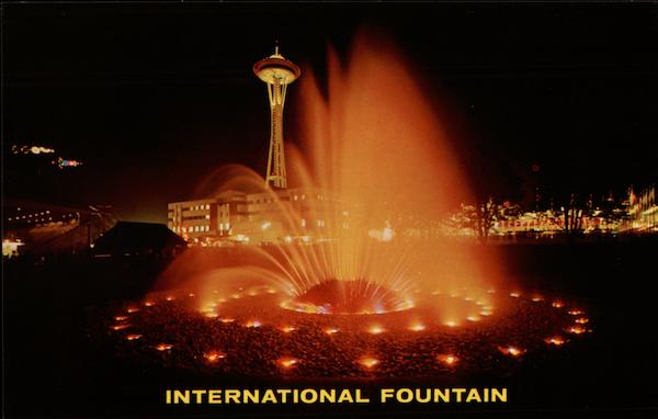 International Fountain Max R. Jensen 1962 Seattle World's Fair