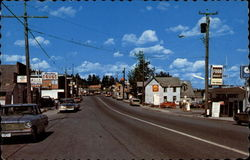 View of Main Street Postcard