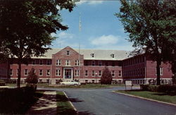 Administration Building, Veterans Hospital Postcard
