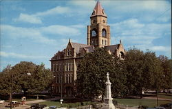 City Square & Marion County Courthouse Postcard