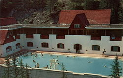 Miette Hot Springs Postcard