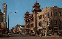 The Chinese Temple of Chicago Postcard