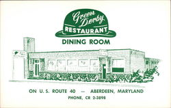 Green Derby Restaurant Dining Room
